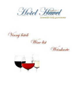 Vinný lístek