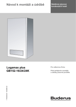 Logamax plus GB152-16/24/24K