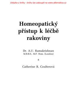Ukázka z knihy - Alternativa - homeopatie, autopatie, alternativní
