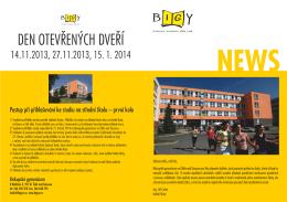 NEWS - Biskupské gymnázium Žďár nad Sázavou