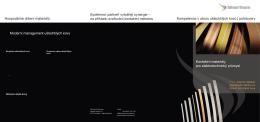 polotovary Kontaktní materiály pro elektrotechnický průmysl