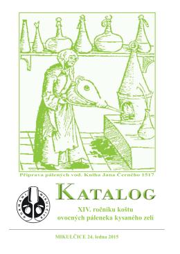 Katalog 2015 - Gurmáni Mikulčice