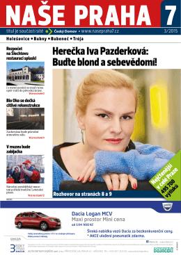 Herečka Iva Pazderková: Buďte blond a sebevědomí!