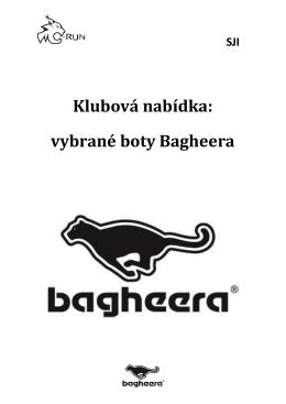 Klubová nabídka: vybrané boty Bagheera