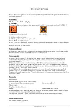 Coopex dýmovnice - Bayer Pestcontrol Expert