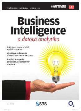 Business Intelligence a datová analytika