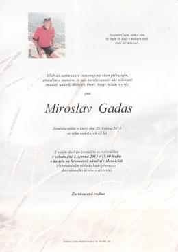 Miroslav Gadas