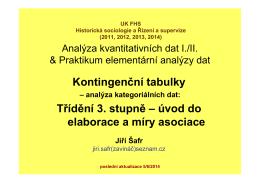verze v pdf - Analýza kvantitativních dat