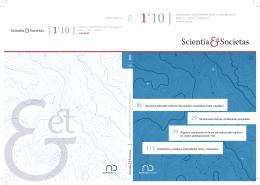 Číslo ke stažení zde - Scientia et Societas