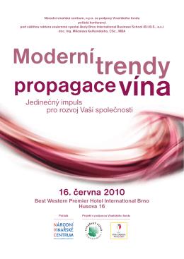 Pozvánka a program konference