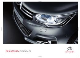 Katalog příslušenství Citroën C4