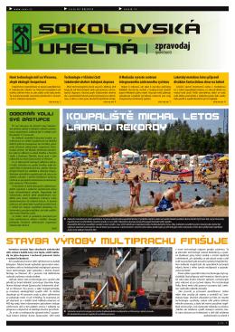 07-08 / 2010 - Sokolovská uhelná