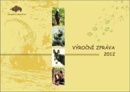 VÝROČNÍ ZPRÁVA 2012 - Podkrušnohorský Zoopark Chomutov
