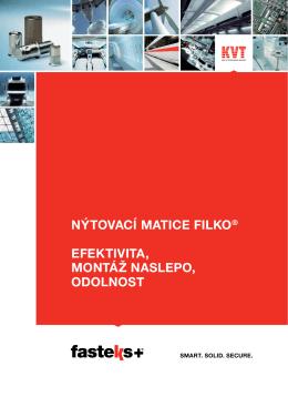 FASTEKS+ FILKO® Nýtovací matice | KVT