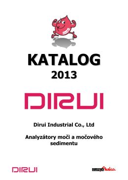 Dirui Industrial Co., Ltd Analyzátory moči a
