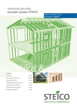 Technická příručka stavební systém STEICO