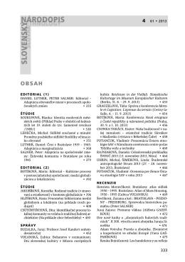 4 61 • 2013 - Ústav etnológie SAV