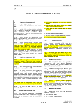 L11 Změna č. 5/ČR - Úřad pro civilní letectví