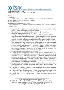 PDF verze - Česká společnost pro analytickou cytometrii