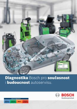 Diagnostika Bosch pro současnost i budoucnost autoservisu.