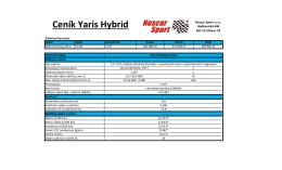 Ceník Yaris Hybrid