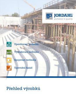 PDF Brožury JORDAHL Přehled Produktů