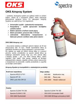 OKS Airspray System - SPECTRA spol. s ro