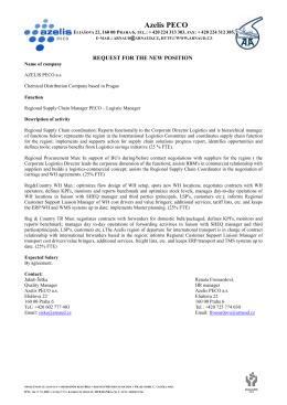 Azelis PECO - Logistic Manager.pdf