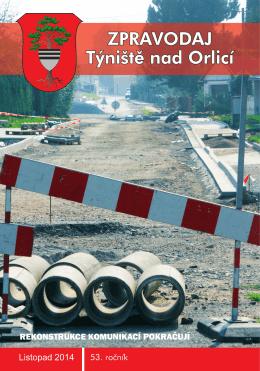 Týnišťský zpravodaj - listopad 2014