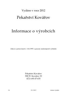 Složení výrobků – PDF