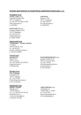 Seznam ke stažení