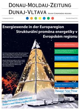 Donau-Moldau-Zeitung - Evropský region | Dunaj