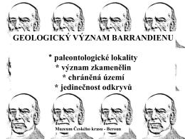 geologie - BARRANDIEN.cz