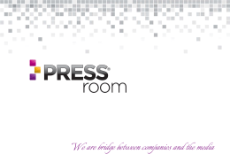 Press Kit - press room