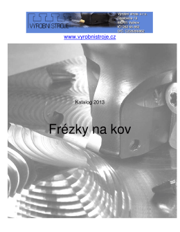 Katalog Frézky