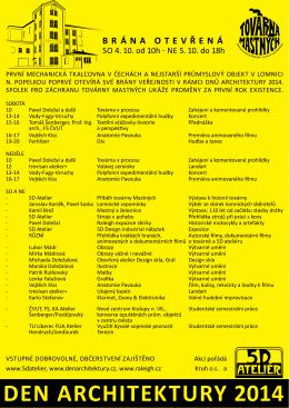 DEN ARCHITEKTURY 2014