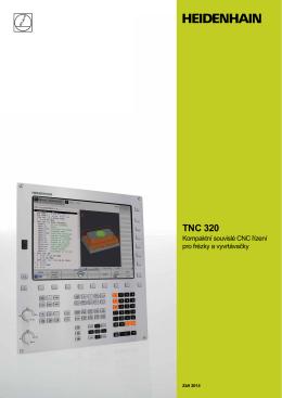 TNC 320 - Kompaktní souvislé CNC řízení pro frézky a