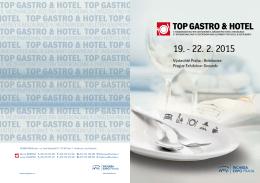 TOP GASTRO & HOTEL 2015