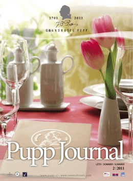 Pupp Journal Sommer 2011