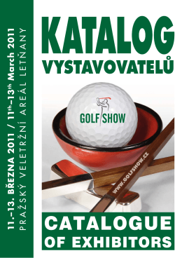 2011 Katalog Golf.indd