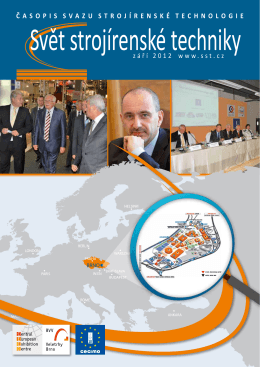 Svět strojírenské techniky číslo 3/2012 (PDF, 7.30 MB)
