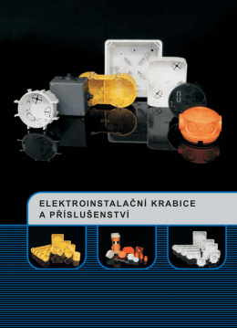 Elektroinstalační krabice a příslušenství KOPOS