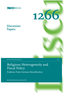 Religious Heterogeneity and Fiscal Policy