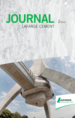 journal 2/2013 - Lafarge Cement a.s.