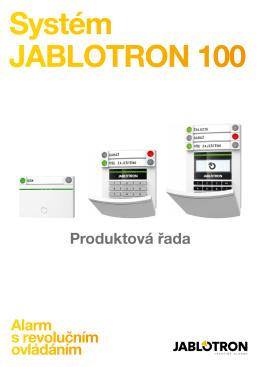 Katalog komponentů Jablotron 100 - zs