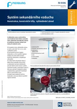 Systém sekundárního vzduchu