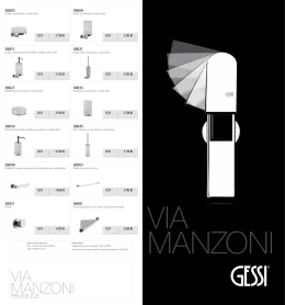 GESSI Via Manzoni - mad