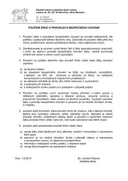 1 POUČENÍ ŽÁKŮ O PRAVIDLECH BEZPEČNÉHO CHOVÁNÍ.pdf
