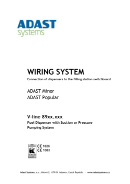 WIRING SYSTEM - Adast Systems, as