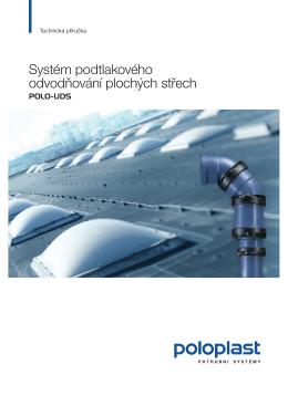 Systém podtlakového odvodňování plochých střech